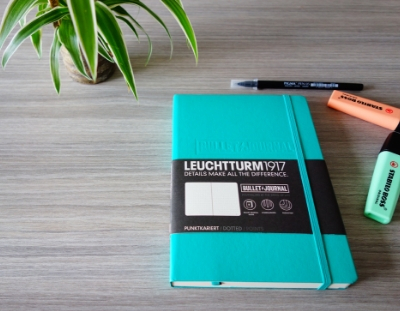 Minimalist bullet journal