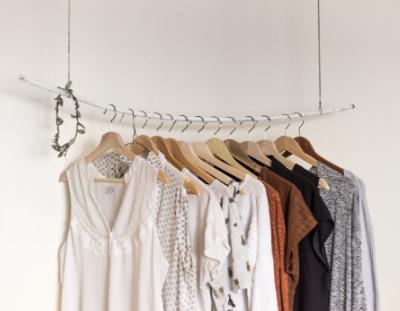 Minimalist wardrobe declutter